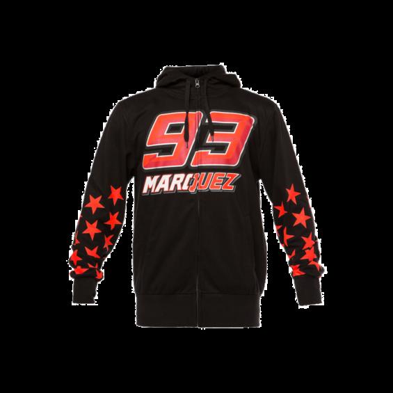 Negra Marc 2018 Sudadera 93 Márquez qxw6S6
