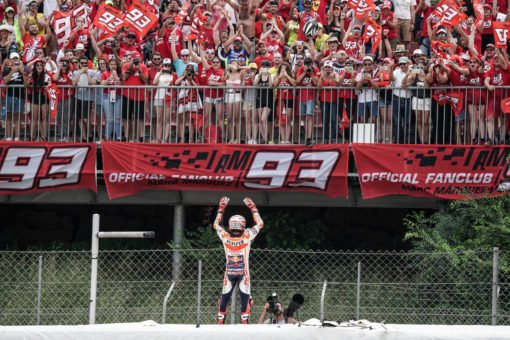 Marc Márquez gets back on the podium in Montmeló