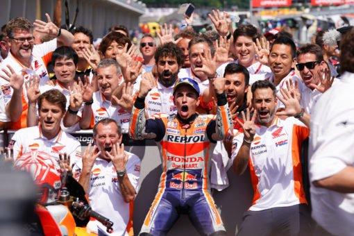Márquez takes ninth consecutive victory at Sachsenring