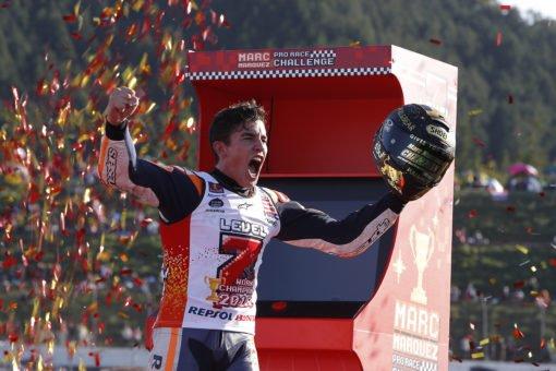 Victoria y título para Márquez en Japón