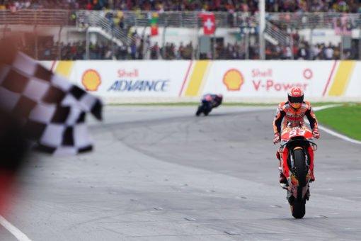 Novena victoria de Márquez