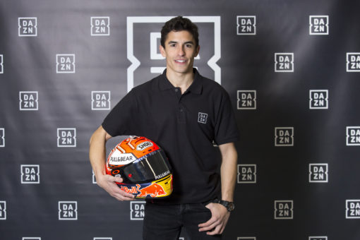 DAZN appoints Marc Márquez as its brand ambassador in Spain
