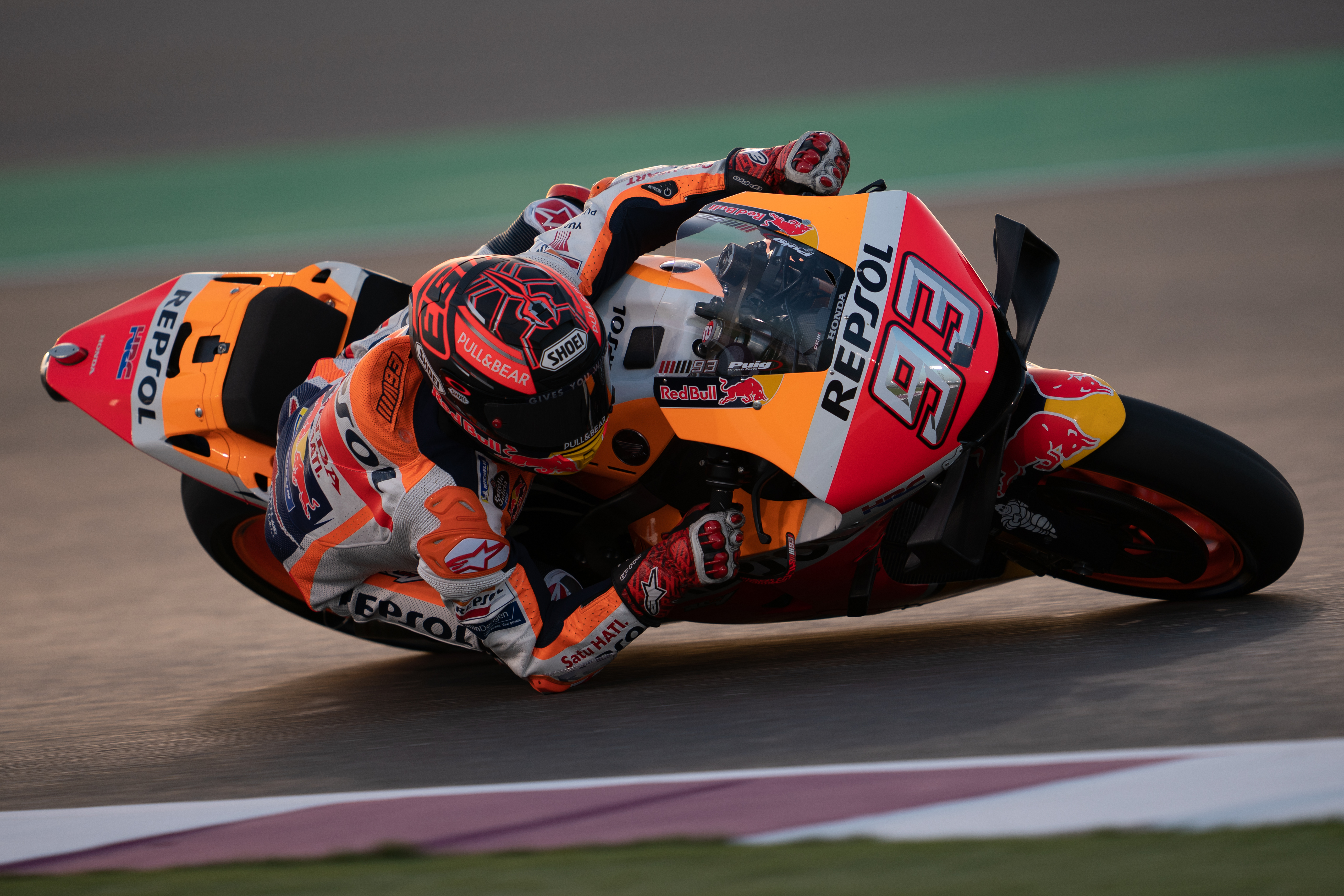 f4b19f97ba703 Marc Marquez leaves Qatar pleased with progress made ahead of round one