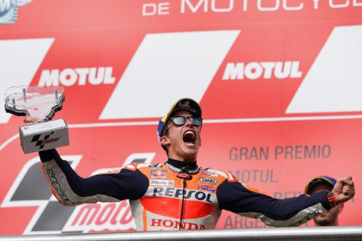 Márquez, victoria en solitario en Termas de Río Hondo