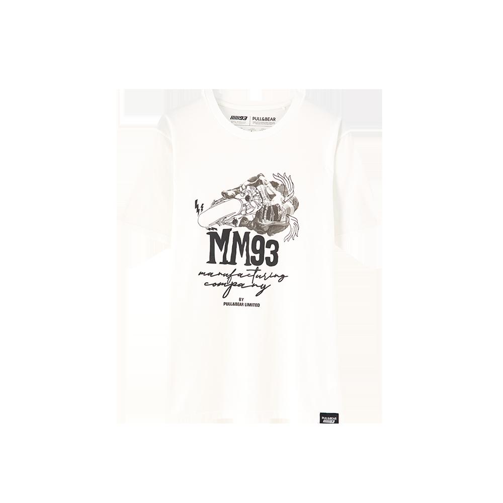 6d1817c3 Marc Márquez T-Shirt MM93 P&B - Marc Márquez