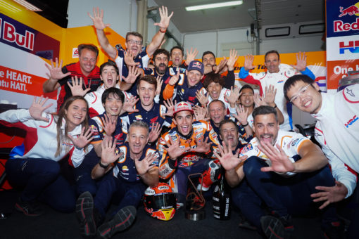 PERFECT TEN FOR MARC MÁRQUEZ WITH GERMAN GP WIN