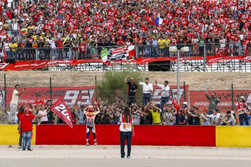 Incontestable victoria de Marc Márquez