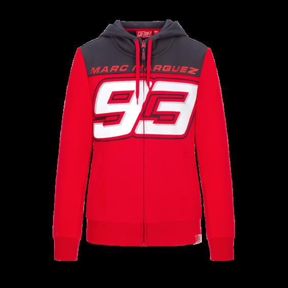 Marc Marquez 93 Moto GP Ant Ni/ños Capucha Rojo Oficial 2018