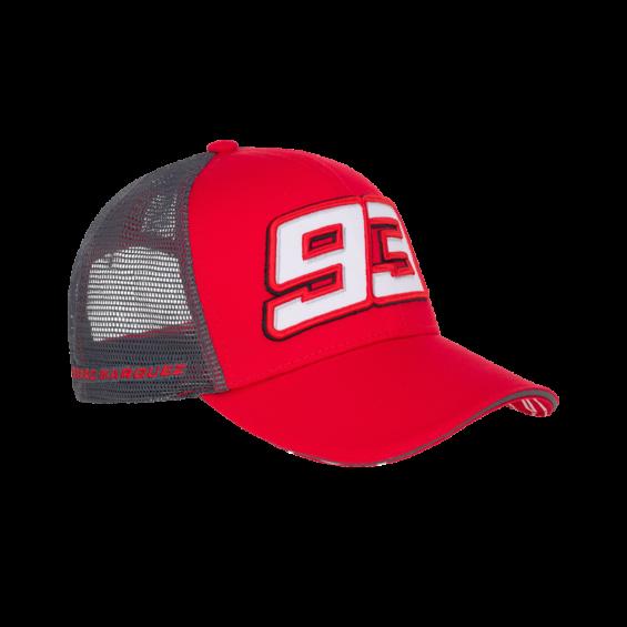 Marc Marquez 93 Moto GP estrellas rojo Gorra Oficial 2017