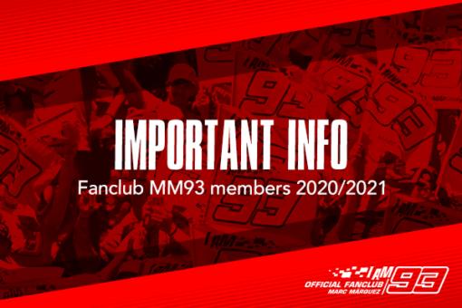 Marc Márquez FanClub members 2020/2021