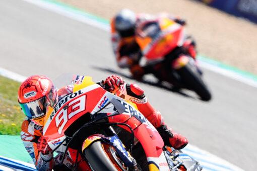 Marc Márquez finaliza noveno el Gran Premio de España