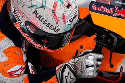 Remontada sin premio para Marc Márquez en el Gran Premi de Catalunya